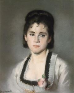 eva-gonzales-portrait de jeanne