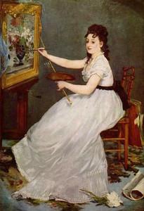 Portrait d'Eva Gonzalès